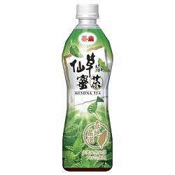 泰山 仙草蜜茶(500mlx24入)