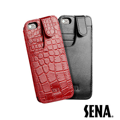 SENA iPhone 5/5S/SE Wallet Slim 保護套
