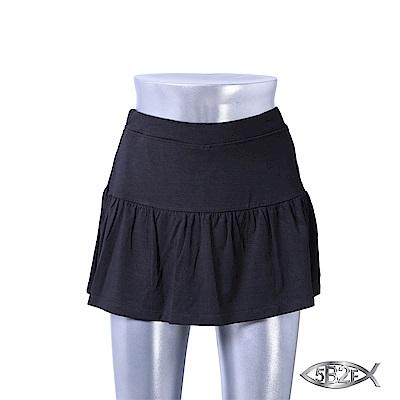 5B2F 五餅二魚 超柔感裙襬短褲