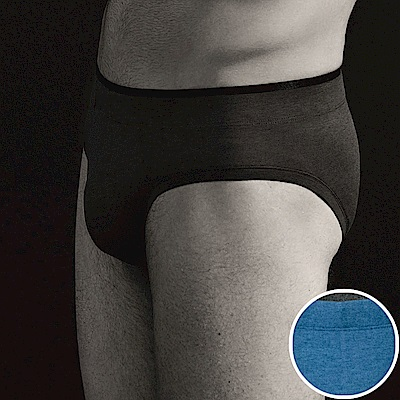sloggi men-S Sophistication合身三角褲M-XL(紳士藍)