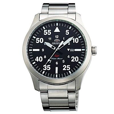 ORIENT SP系列前衛巔峰石英腕錶(FUNG2001B0)-黑/42mm