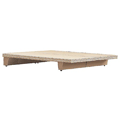 AS-大衛3.5尺洗白床底-105x188x24.5cm