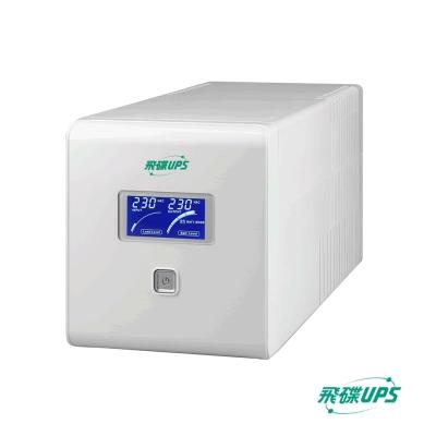 飛碟-1KVA UPS (在線互動式Plus) 穩壓+USB監控+LCD面板+可更換電池