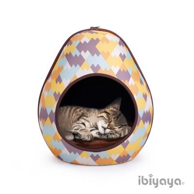 IBIYAYA依比呀呀-FB1412 摩登恐龍蛋寵物窩-幾何黃