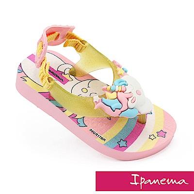 IPANEMA 活力貝比寶寶休閒涼鞋-粉色/鵝黃色
