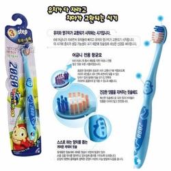 韓國2080 第3階段兒童抗菌牙刷(6-8歲)-顏色隨機出