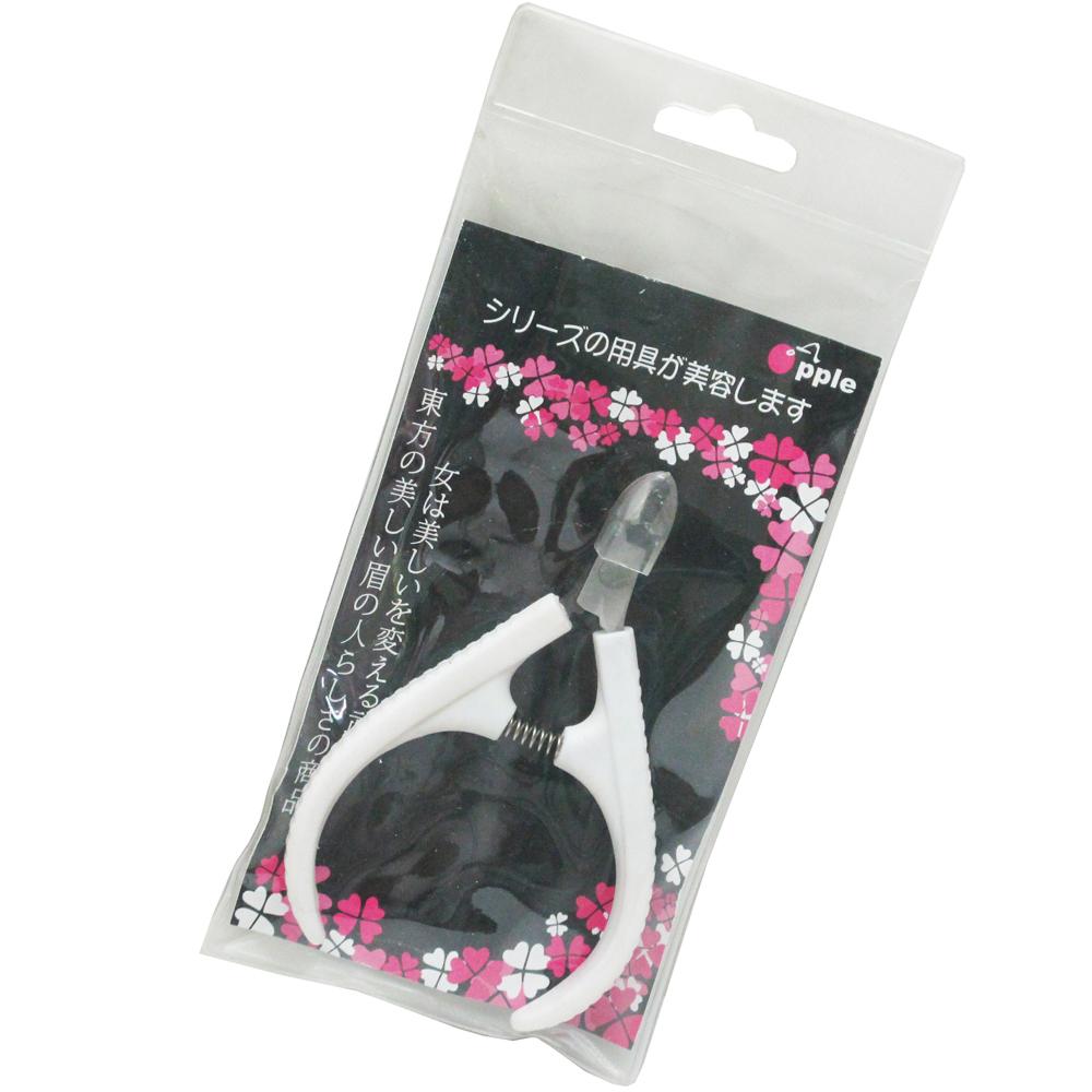 台灣製造鷹嘴式不鏽鋼指甲刀腳指甲剪鉗剪腳皮(LS1803)