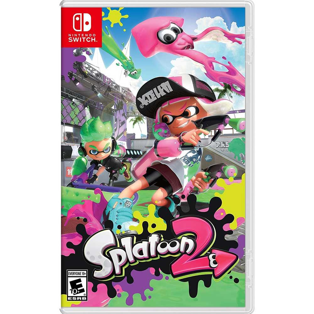 漆彈大作戰 2 - Nintendo Switch 亞版日文版(拆封無鑑賞期)
