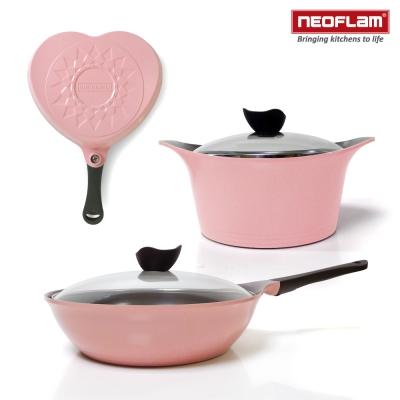韓國NEOFLAM-Aeni系列-粉紅甜心3件組