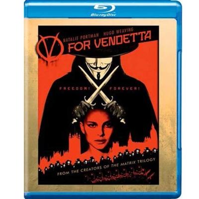 V怪客 V For Vendetta 藍光 BD