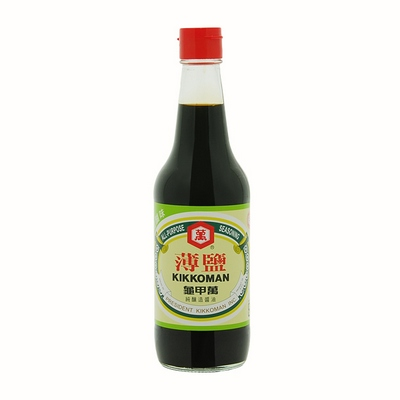 龜甲萬 薄鹽醬油(500ml)