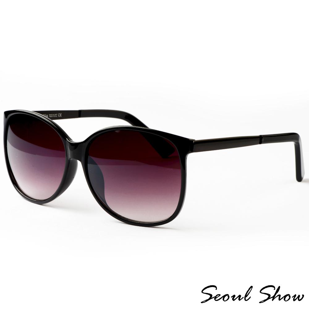 Seoul Show典雅名媛 時尚太陽眼鏡 8098 黑色