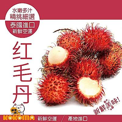 (好康499免運)極鮮配 泰國鮮甜帶殼紅毛丹 (500G±5%/包)