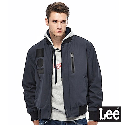 Lee 飛行夾克-男款-深藍