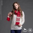 ROUSH 雪花點點設計混羊毛圍巾 (3色)