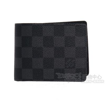 LV N62663 Damier 經典棋盤格短夾