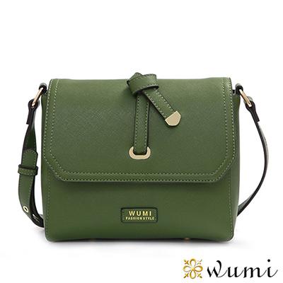 WuMi 無米 蜜莉Mini蝴蝶結斜背包 韓潮綠