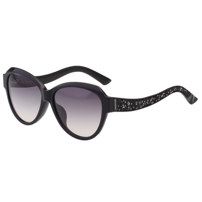 SWAROVSKI太陽眼鏡-貓眼-黑色-SW111F