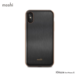 Moshi iGlaze for iPhone XS/X 超薄時尚保護背殼