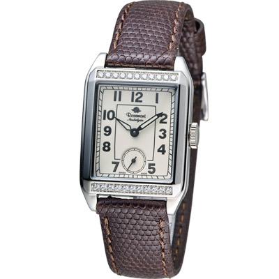 Rosemont 戀舊系列 時尚腕錶-咖啡色/25x30mm
