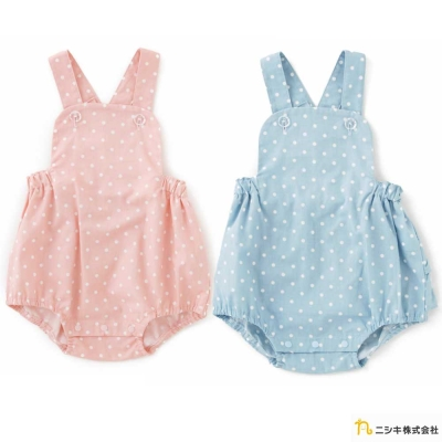 Nishiki 日本株式會社 無袖吊帶荷葉連身衣