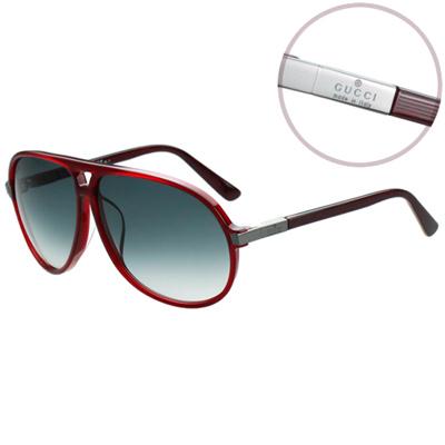 GUCCI-時尚太陽眼鏡-紅色