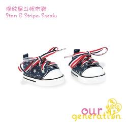 Our generation 條紋星斗帆布鞋(3Y+)