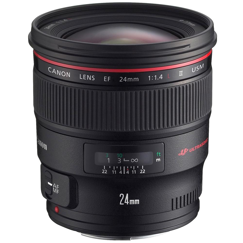 Canon EF 24mm f/1.4L II USM 廣角鏡頭 (公司貨)