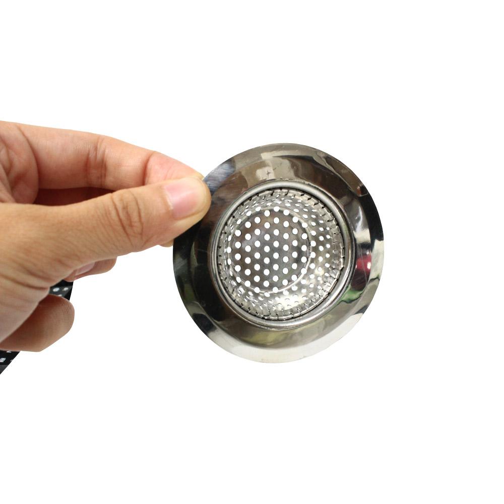 PUSH!廚房用品外徑7CM內徑4CM深度1.5CM不鏽鋼水槽濾網D36小號