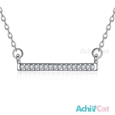 AchiCat 925純銀項鍊鎖骨鍊 唯一幸福