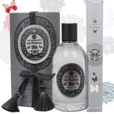 Bath & Bloom 蝶舞四季繽紛擴香精300ML-5月微風原野