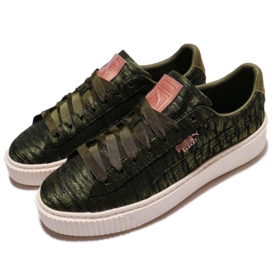 Puma 增高鞋 Basket Platform VR 女鞋