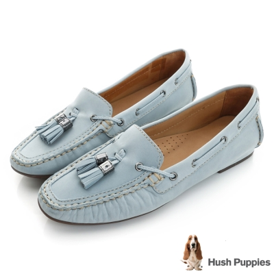 Hush Puppies PRISCILLA 流蘇樂福鞋-淺藍