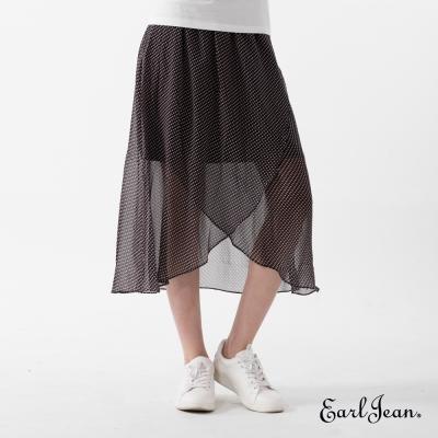 Earl Jean 點點雪紡長裙-女