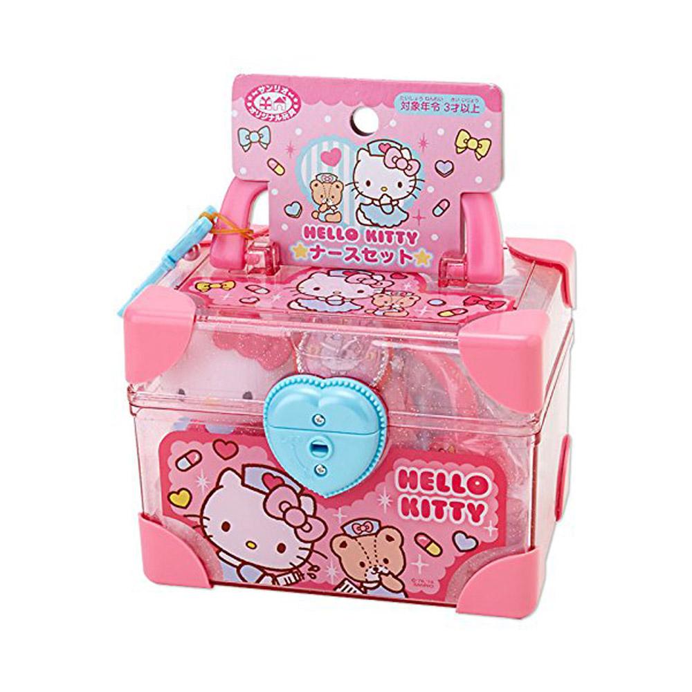 Sanrio HELLO KITTY可攜式迷你玩具醫護組