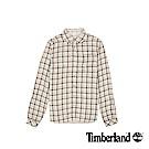 Timberland  女款紗染深玫瑰粉Sudbury Rvr 雙層襯衫