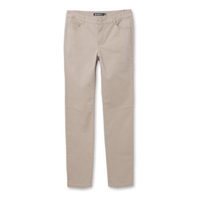 Hang Ten -女裝- 完美修身褲系列-基本色褲-灰褐