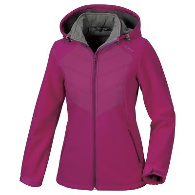 歐都納WINDSTOPPER女款科技纖維外套 A-G1561W 紫紅