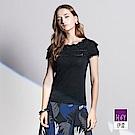 ILEY伊蕾 奢華銀蔥縫片針織上衣(黑/粉)
