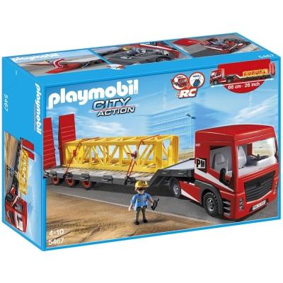 playmobil CITY ACTION系列  重型平板拖車