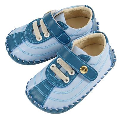Swan天鵝童鞋-幾何線條寶寶鞋 1485-藍