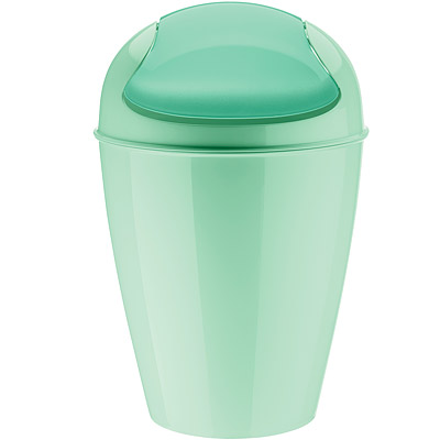 KOZIOL 搖擺蓋垃圾桶(薄荷綠M)