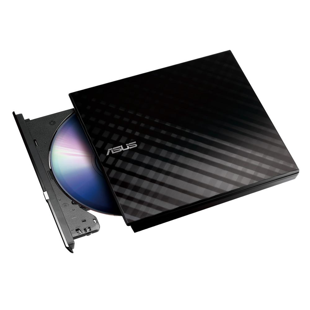 華碩 SDRW-08D2S-U 外接式超薄DVD燒錄器(黑)