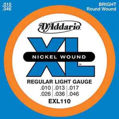 D'Addario EXL110 電吉他套弦