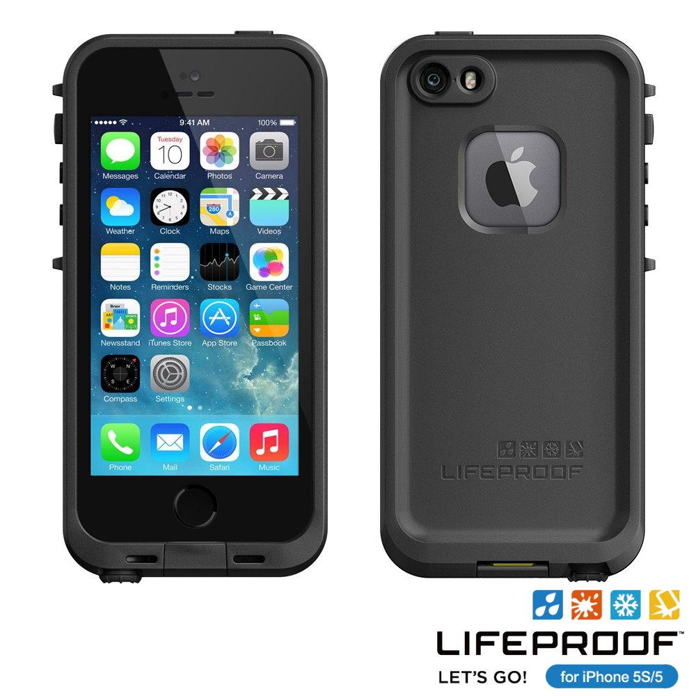 LIFEPROOF iPhone 5S/5防水防雪防震防泥超強保護殼(fre款)