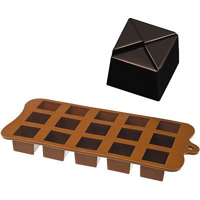 IBILI 15格巧克力模(方菱格)