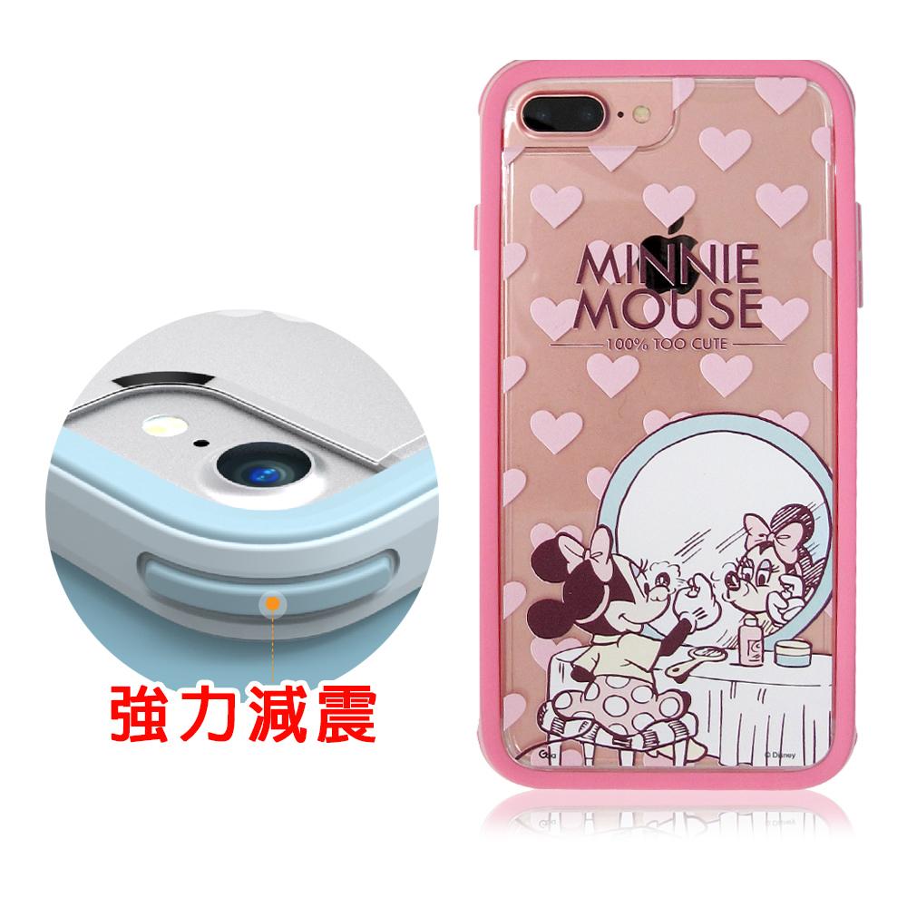 迪士尼&SOLiDE iPhone 7 Plus 5.5吋軍規防摔手機殼(經典米妮)