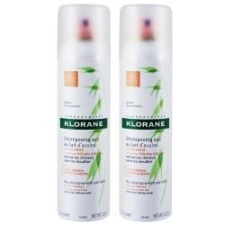 KLORANE蔻蘿蘭 控油澎鬆乾洗髮噴霧150ml(二入組)