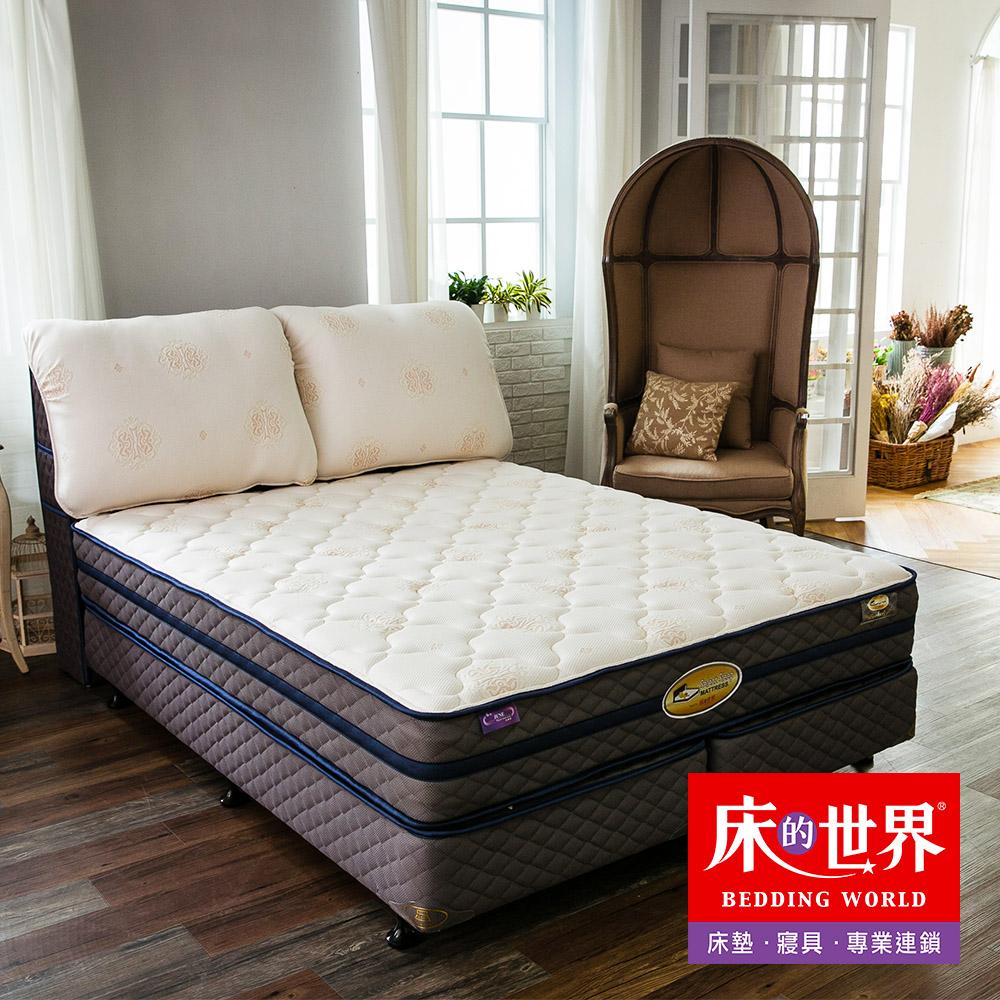 床的世界 美國首品名床柏克萊Berkeley 標準雙人兩線 獨立筒床墊