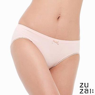 zuzai 自在膠原蛋白低腰女三角內褲-粉色